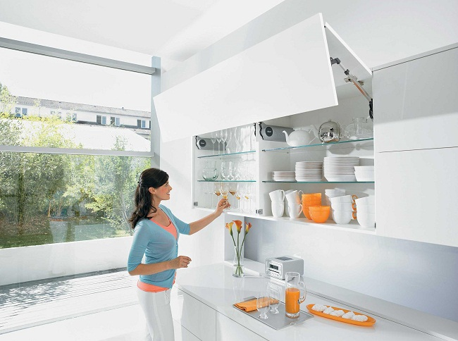 Phụ kiện tủ bếp Blum - Giải pháp cho nhà bếp hiện đại