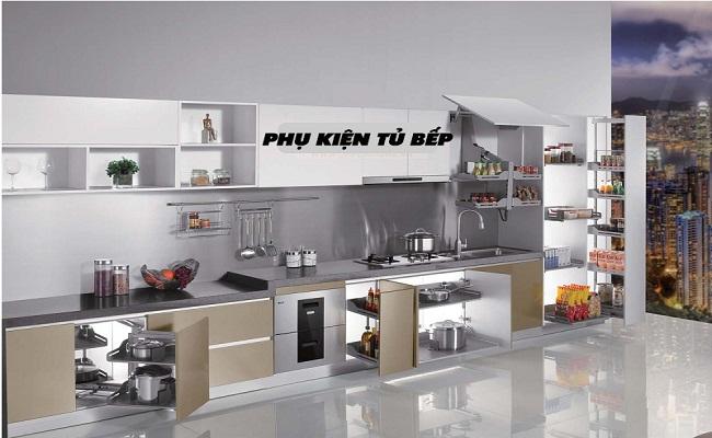 Phụ kiện tủ bếp gồm những gì bạn biết chưa?
