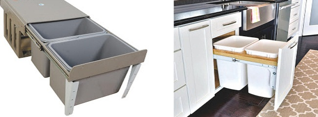 Sắp xếp các thiết bị trong tủ bếp
