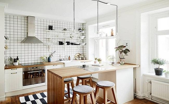 Thiết kế tủ bếp làm đẹp cho không gian
