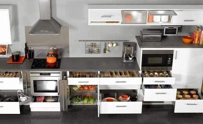 Thiết bị tủ bếp hiện đại