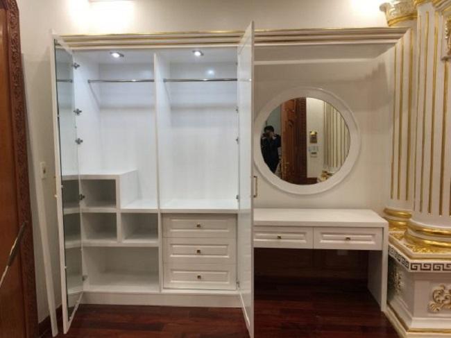 Thiết kế nội thất căn hộ cao cấp nhà cô Loan ở Đà Nẵng