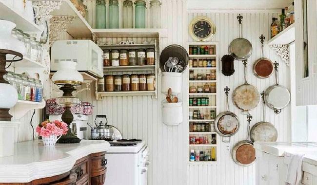 Thiết kế trang trí nhà bếp cấp 4