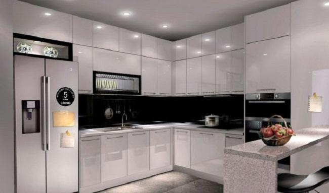 Ý tưởng thiết kế tủ bếp chung cư