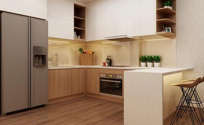 Thiết kế tủ bếp có bàn đảo đẹp