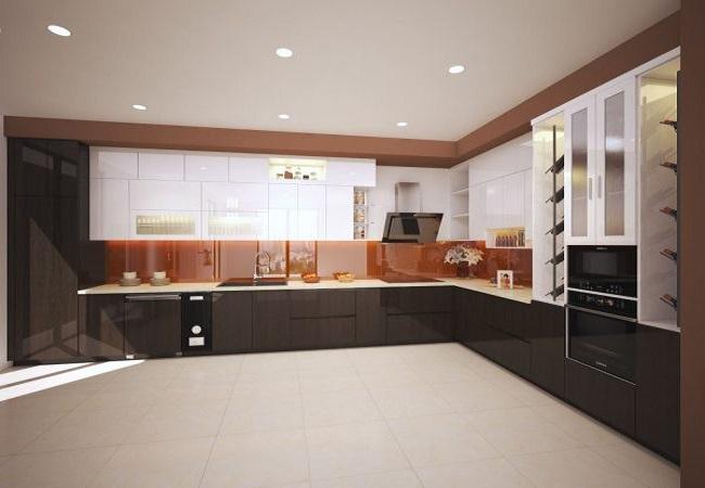 Thiết kế tủ bếp hiện đại cho anh Phong ở Vinhomes Imperia Hải Phòng