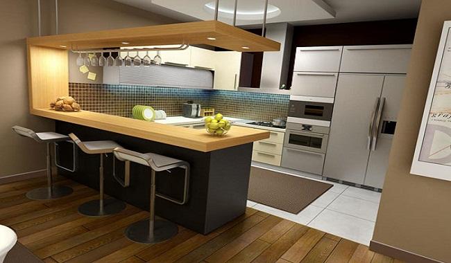 Thiết kế tủ bếp thông minh