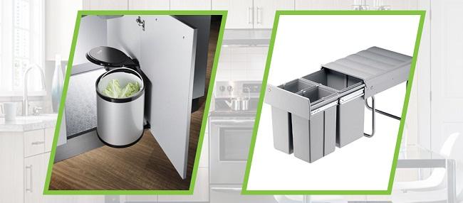 Thùng rác thông minh cho tủ bếp