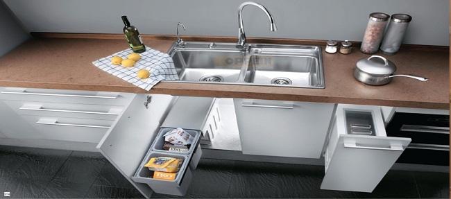 Tổng hợp phụ kiện cho tủ bếp dưới cần thiết nhất