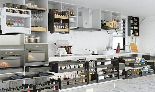 Top 6 phụ kiện tủ bếp không thể thiếu trong mọi gia đình