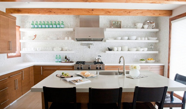 Trang trí bếp nhà cấp 4