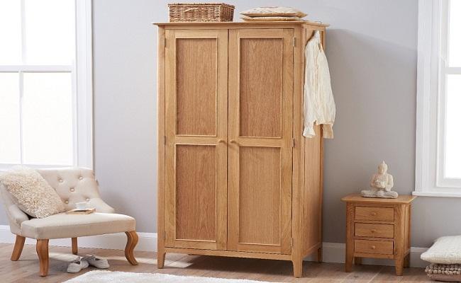 Tủ áo gỗ tự nhiên