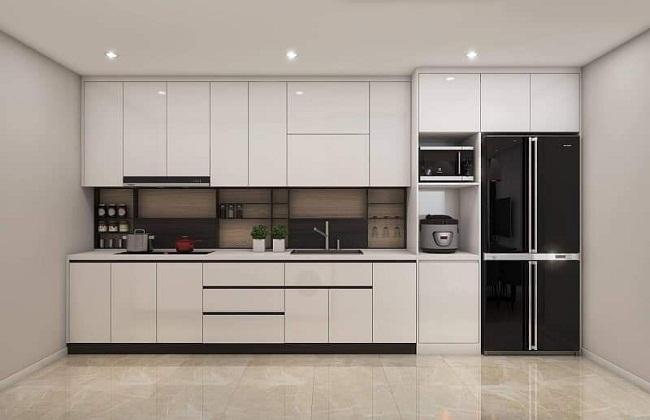 Tủ bếp Acrylic hiện đại giá rẻ