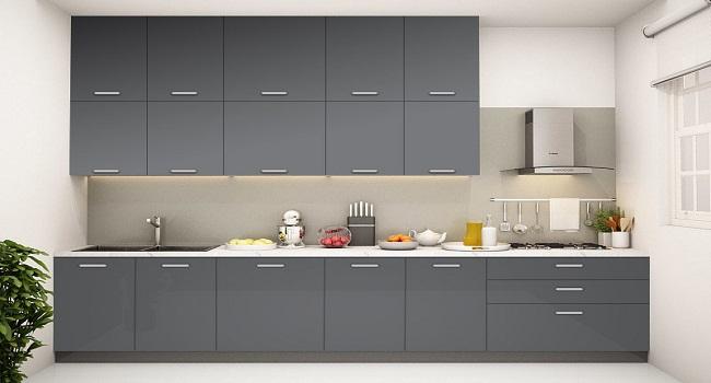 Tủ bếp hiện đại dành cho nhà nhỏ