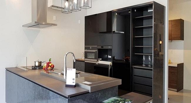 Tủ bếp song song dành cho nhà nhỏ
