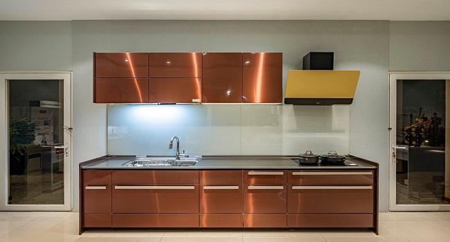 Tủ bếp đơn giản