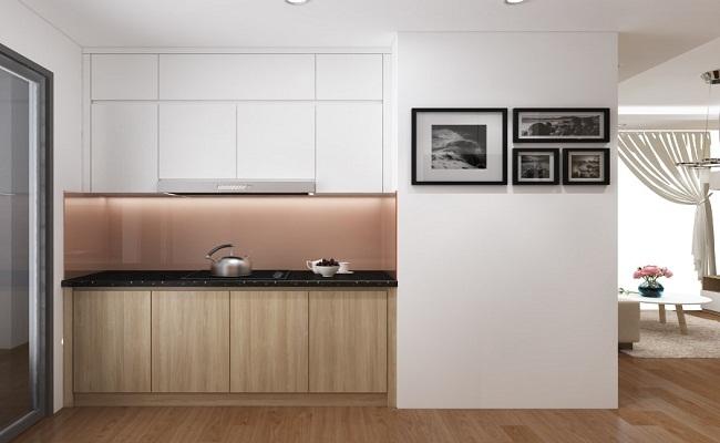 Tủ bếp đơn giản giá rẻ