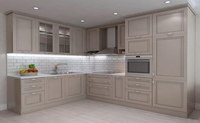 Tủ bếp dưới chữ L