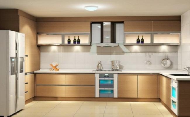 Tủ bếp dưới chữ U
