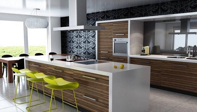 Tủ bếp gỗ công nghiệp lõi chống ẩm
