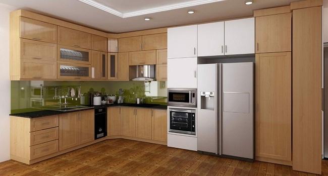 Tủ bếp gỗ giá bao nhiêu?