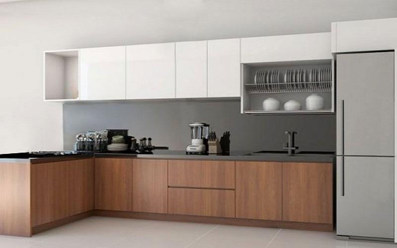 Tủ bếp gỗ HDF chống ẩm