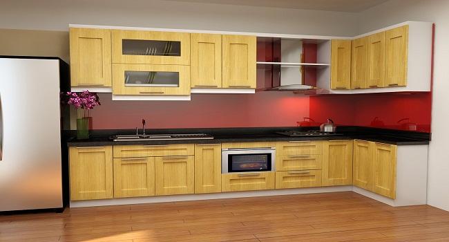 Tủ bếp gỗ tần bì tốt không?