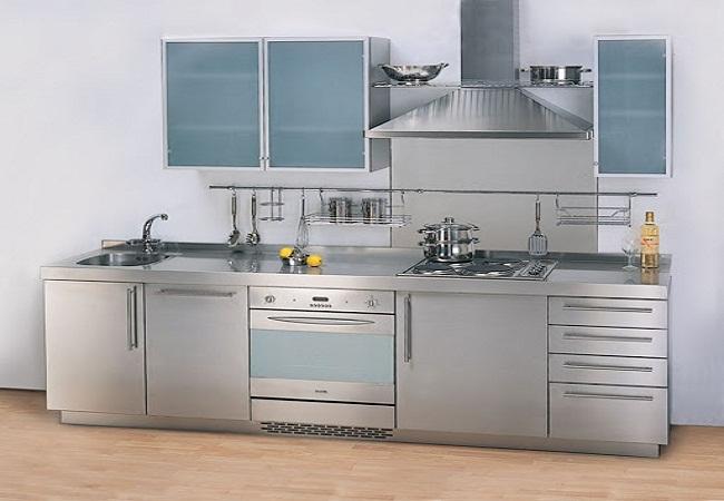 Tủ bếp inox đẹp giá rẻ