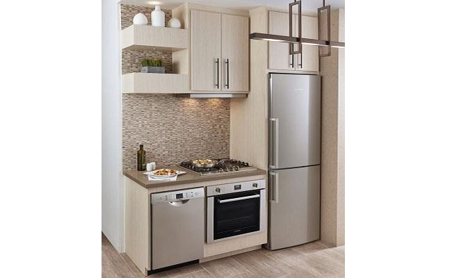 Tủ bếp mini cho nhà chung cư