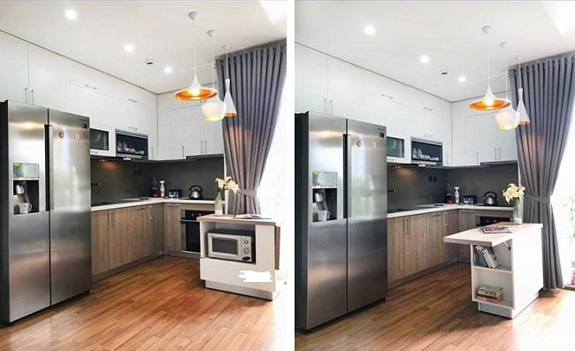 Tủ bếp nhỏ đa năng
