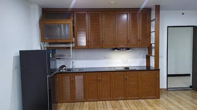 Tủ bếp nhôm omega cao cấp