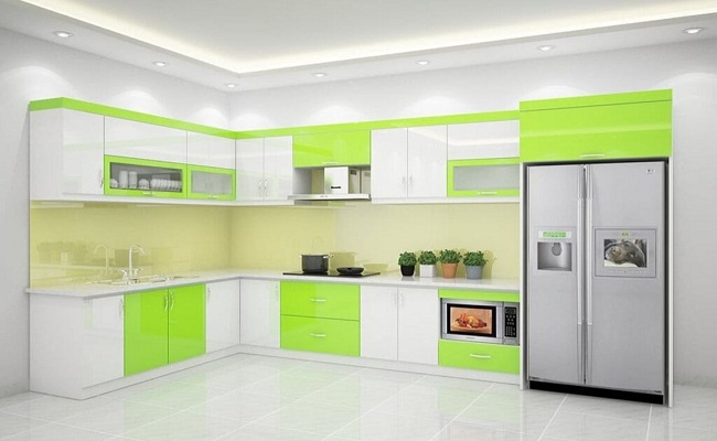Mua tủ bếp nhôm kính ở đâu tốt?