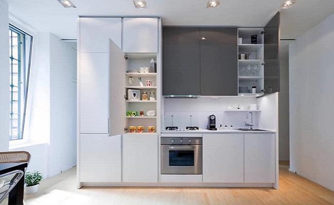 Tủ bếp nhựa PVC cao cấp