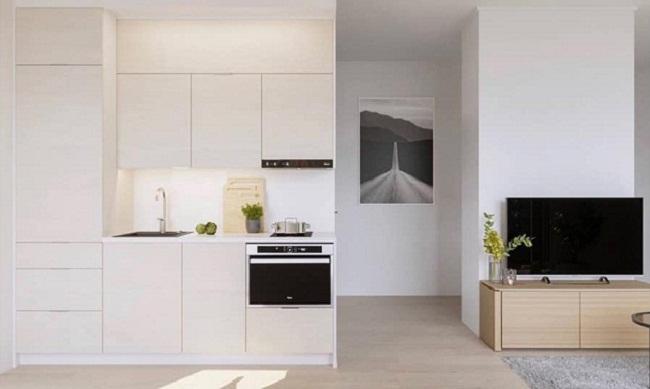 Tủ bếp PVC cao cấp