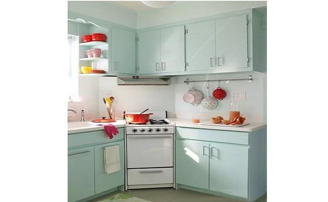 Tủ bếp thông minh cho bếp chật