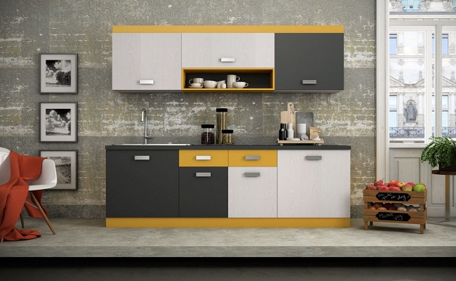Mẫu tủ bếp tiết kiệm diện tích