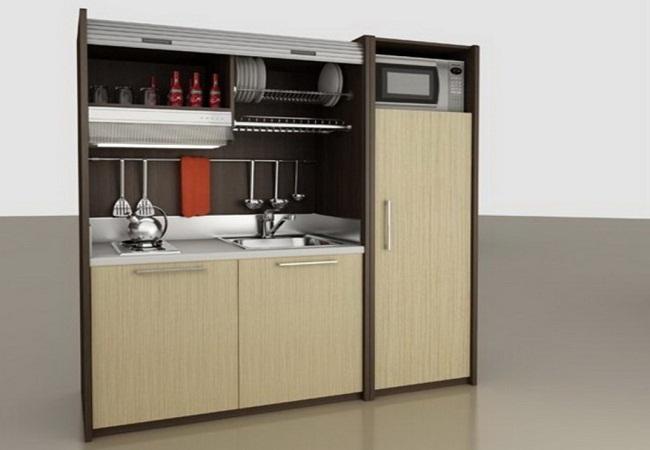 Mẫu tủ bếp tiết kiệm chi phí