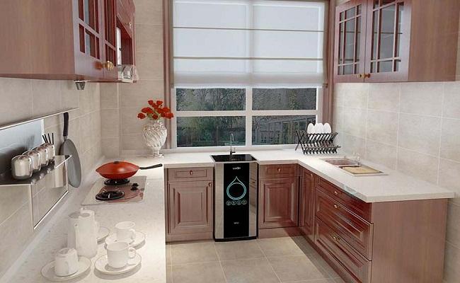 Tủ bếp treo tường song song