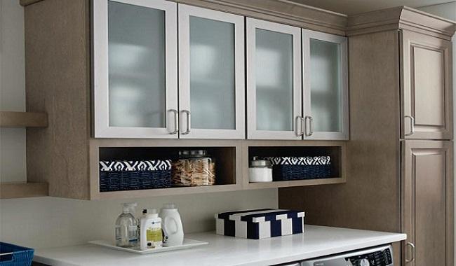 Tủ bếp treo tường bằng nhôm