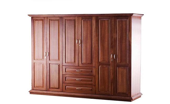 Tủ quần áo gỗ tự nhiên Hoàng Anh Gia Lai