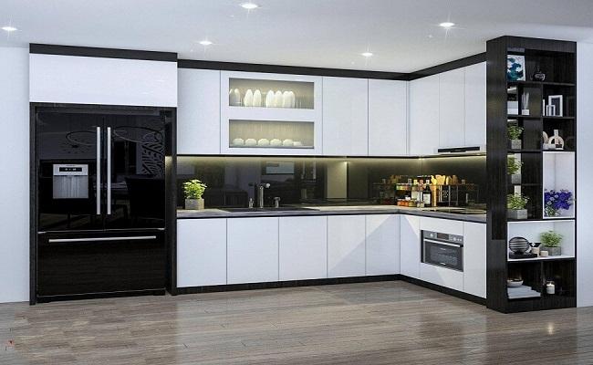 Ý tưởng thiết kế tủ bếp chung cư đẹp